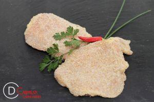 LLIBRETS DE LLOM ARREBOSSATS (pernil dolç i formatge)