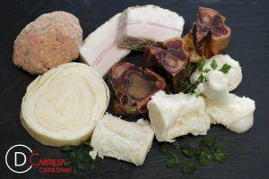PREPARAT PER CALDO (os pernil, os salat, os porc, ala de pollastre i pilota)